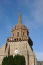 Saint jacques church in perros guirec france Stock Images