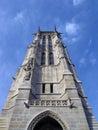 Saint -Jacques tower in Paris. Stock Photo