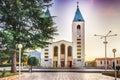 Saint James Church in Medjugorje Royalty Free Stock Photo