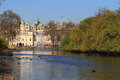 Saint james park in london the england Royalty Free Stock Image