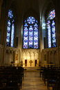 Saint john the divine an altar at one of largest cathedrals in world in new york city Stock Image