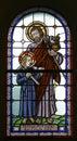 Saint Joseph with child Jesus Royalty Free Stock Photo