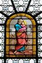 Saint Joseph holding child Jesus Royalty Free Stock Photo