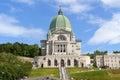 Saint Joseph Oratory in Montreal Royalty Free Stock Photo