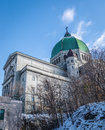 Saint Joseph Oratory with snow - Montreal, Quebec, Canada