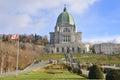 Saint joseph s oratory of mount royal french oratoire du mont is a roman catholic basilica on the west slope Stock Photography