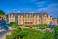 Saint lamberts in front of former palace of the prince bishops i liege belgium benelux hdr Stock Image