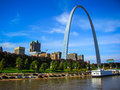 Saint Louis Arch Royalty Free Stock Photo