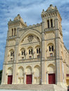 Saint Louis Cathedral (Carthage, Tunisia) Stock Photos