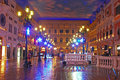 Saint Marco Square in Shopping Mall in The Venetian Macao Royalty Free Stock Photo