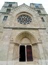 Saint margit church in budapest hungary Stock Image