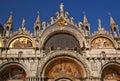 Saint Mark's Basilica Details Venice Italy Royalty Free Stock Photo