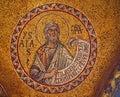 Saint Mark's Basilica Mosaic Venice Italy Royalty Free Stock Photo