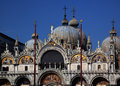 Saint Mark's Basilica Venice Italy Royalty Free Stock Photo