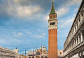 Saint Mark's Square in Venice Stock Photo