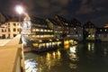 Saint Martin Bridge, Petite France Royalty Free Stock Photo