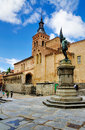 Saint martin s church iglesia de san martin old town segovia spain Royalty Free Stock Images