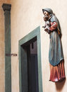 Saint Mary And Baby Jesus Scul...