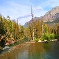 Saint Mary Creek - Glacier NP Royalty Free Stock Photo