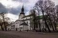 Saint Mary's Cathedral in Tallinn, Estonia Royalty Free Stock Photo