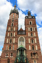 Saint Mary's Church Krakow Royalty Free Stock Photo