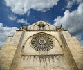 Saint-Maurice Cathedral, Angers. France Stock Photo