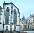 The Saint Michael Chapel and St. Elisabeth Cathedral (Kosice, Sl Royalty Free Stock Photo
