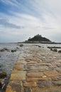 Saint Michael mount, Cornwall, England, UK Royalty Free Stock Photo