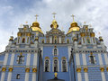 Saint Michaels Cathedral in Kiev Stock Photo