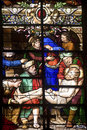 Saint-Mihiel - Stained glass Royalty Free Stock Photography