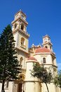 Saint Minas Cathedral, Heraklion. Royalty Free Stock Photo