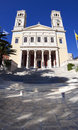 Saint Nicholas Church, Syros, Greece Stock Image