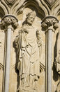 Saint Nicholas Statue, Salisbury Royalty Free Stock Photography
