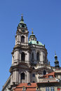 Saint Nicolas Church - Prague Stock Photo