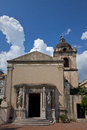 Saint Pancras' Church in Taormina Royalty Free Stock Images