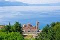 Saint panteleimon monastery in ohrid macedonia Stock Photography