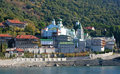 Saint Panteleimonas Russian monastery Stock Photography