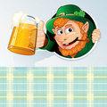 Saint Patrick Card Royalty Free Stock Image