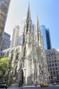 Saint Patrick Cathedral, New York City Royalty Free Stock Photo