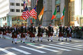 The Saint Patrick Day Parade Royalty Free Stock Photo