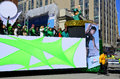 Saint patrick day parade montreal canada march participants a the on mach in montreal canada the montreal st s has Stock Photos