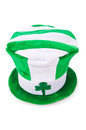 Saint patrick holiday concept with green hat Stock Image