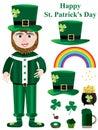 Saint Patrick Items Set_eps