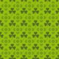 Saint patrick pattern background Stock Image