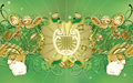 Saint Patrick's Day - Celtic Harp Royalty Free Stock Photography