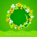 Saint patrick s day easy to edit vector illustration of background Stock Image