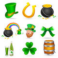 Saint Patrick's Day Elements Royalty Free Stock Photos