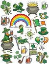 Saint Patrick's Day Elements Stock Images