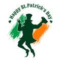Saint Patrick's Day Emblem
