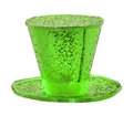 Saint patrick s day hat st isolated on a white background Stock Images